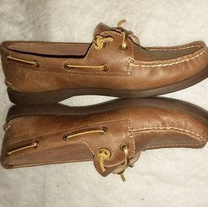 Sperry Top-Siders Size 7.5 Med Brown